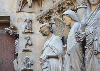 Kathedraal Reims engelen