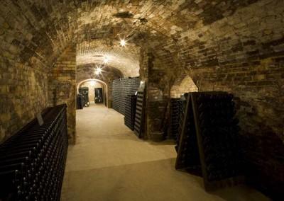 Champagne kelder in Epernay