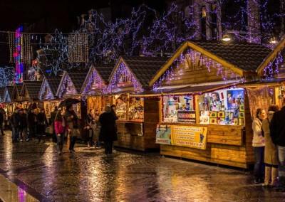 Kerstmarkt in Reims